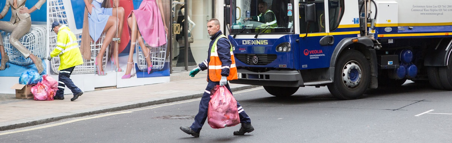 retail waste collection westminster