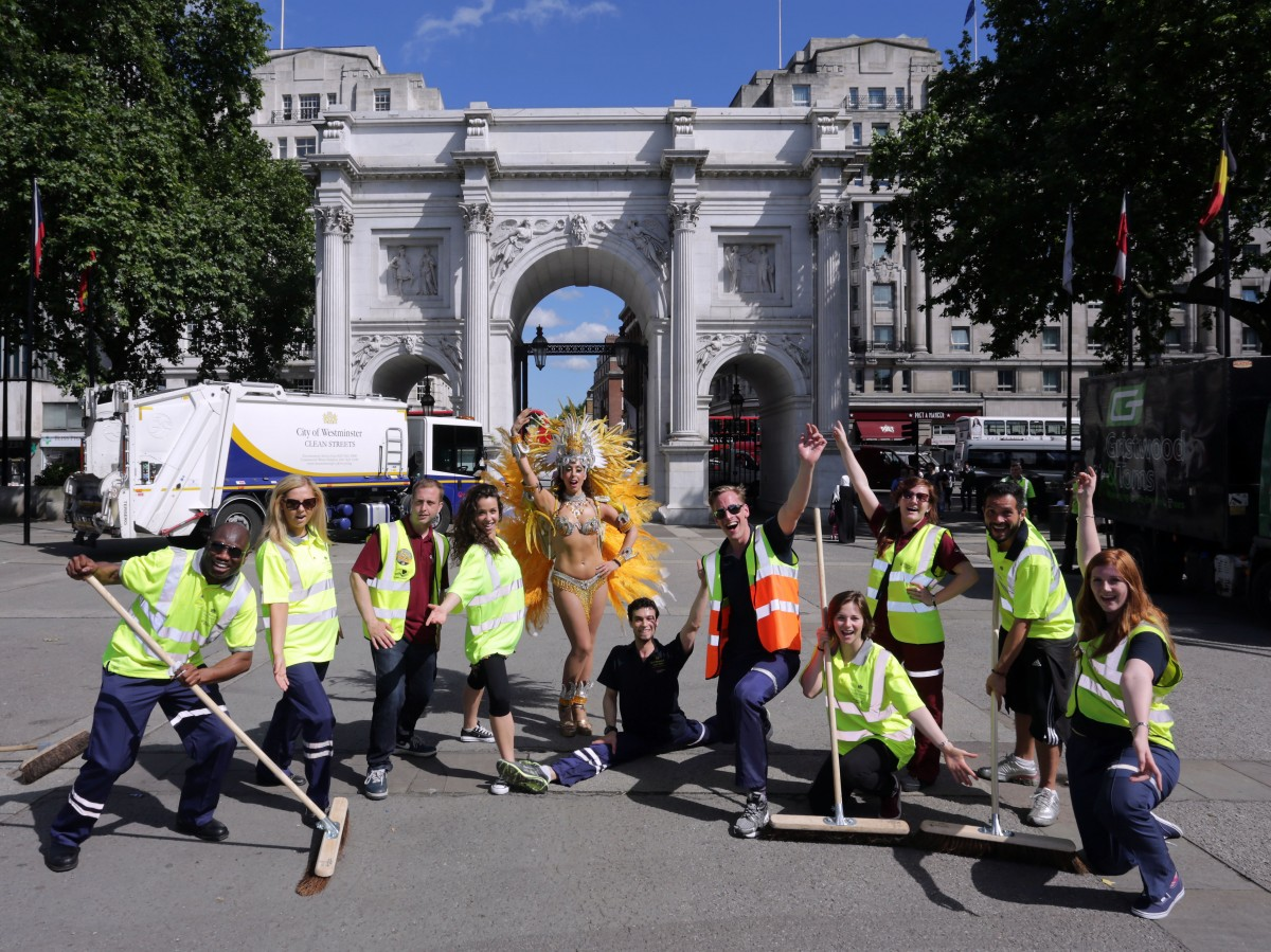 Team Veolia & Westminster