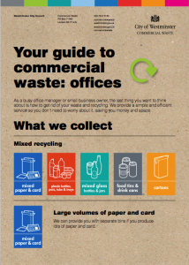 waste management for offices guide