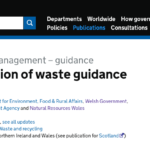 definition of waste guidelines
