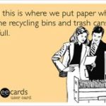 westminster recycling stickers