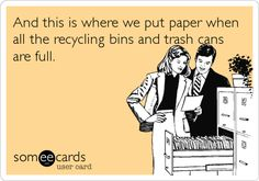 recycling ecard