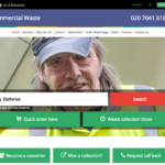 cleanstreets commercial waste website