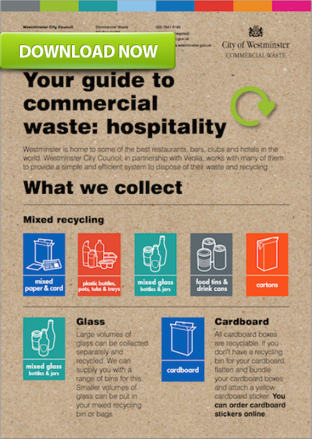 guide to reducing waste in hospitality
