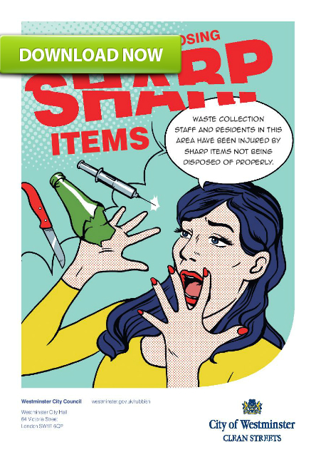 disposing of sharp objects