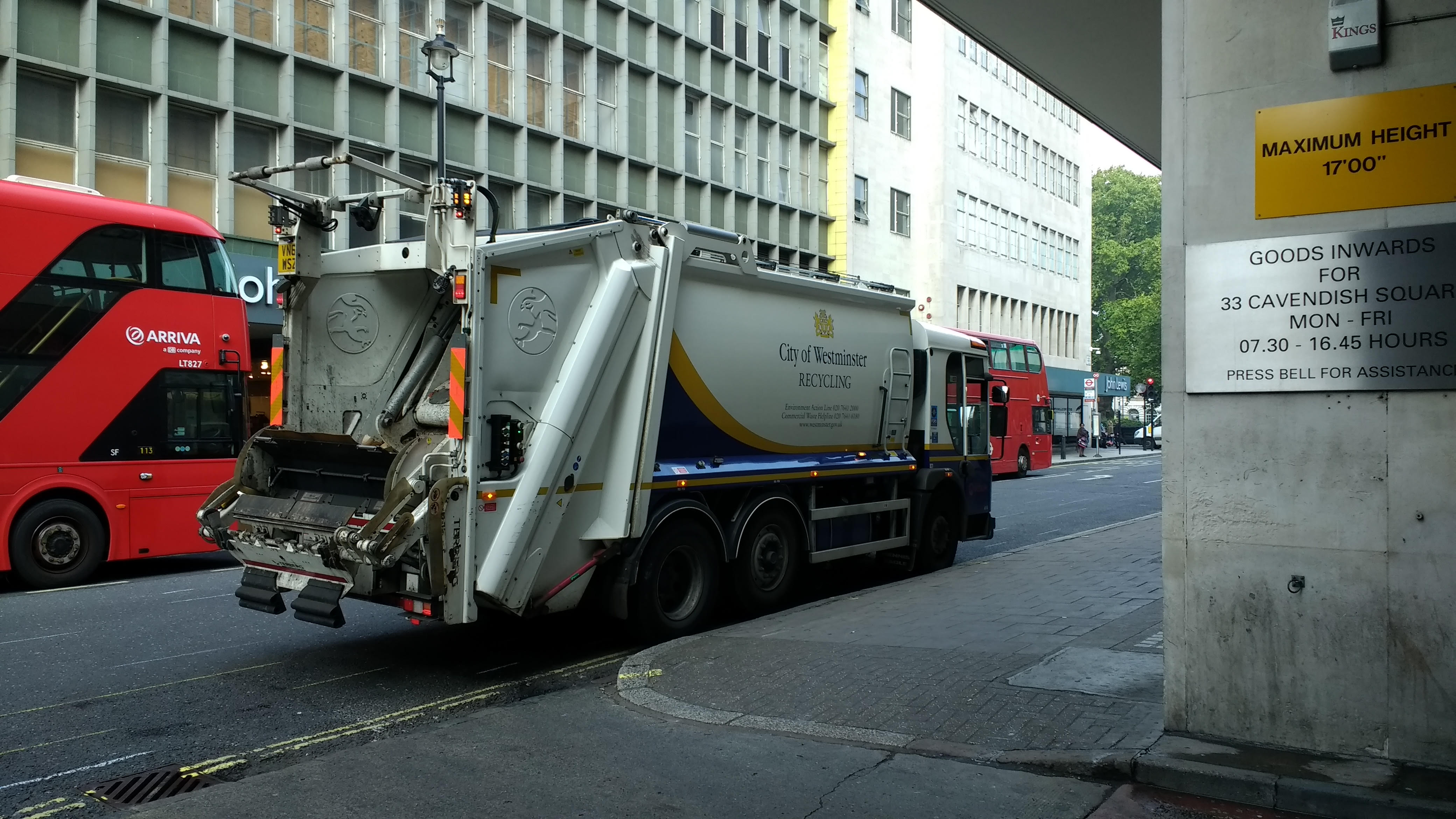 recycling in london