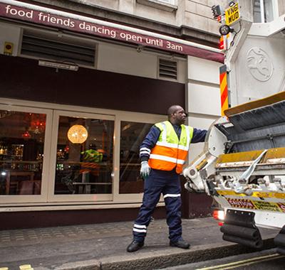 waste management for bar
