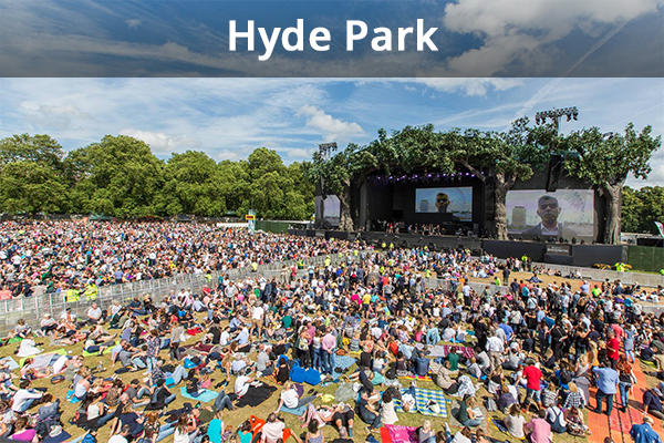 event waste hyde park