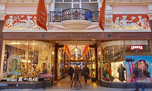 retail waste collections bond street