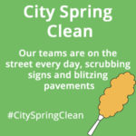 city spring clean
