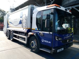 The evolution of Westminster City Council's first electric refuse collection trucks