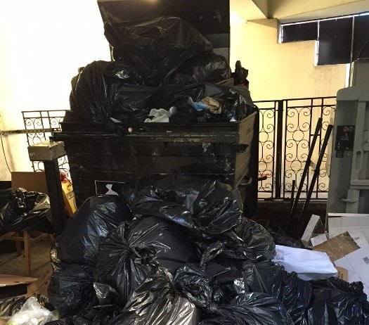 excess commercial waste