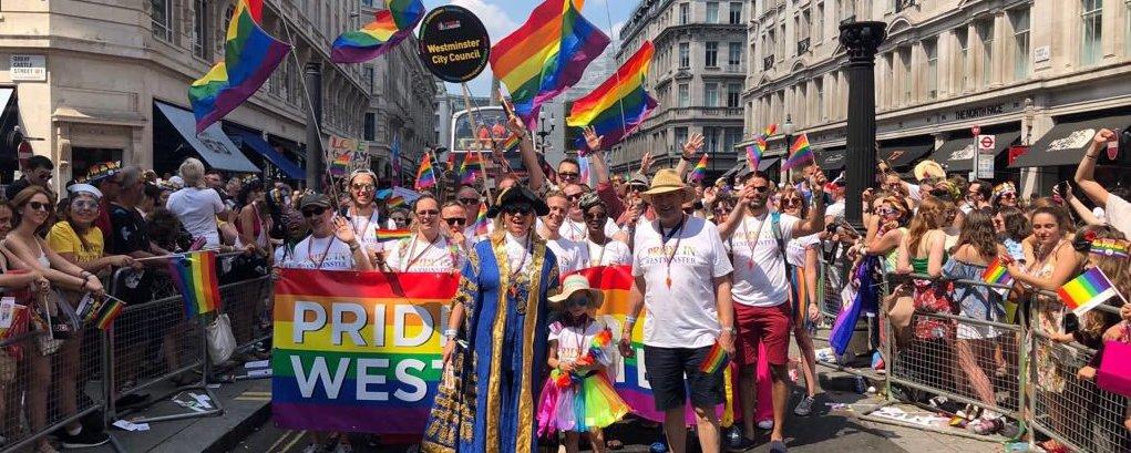 pride parade westminster