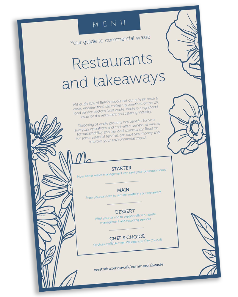 Restaurant commercial food waste guide