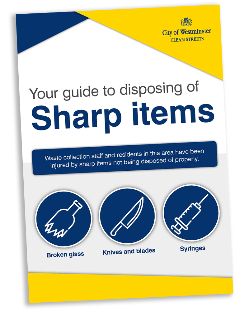 sharp items