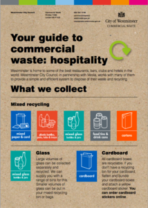 commercial waste hospitality westminster