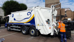 electric waste collection vehicle