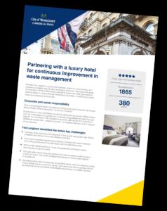 hotel waste disposal - langham hotel