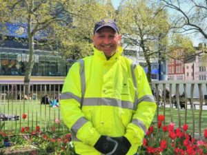 Westminster commercial waste employee