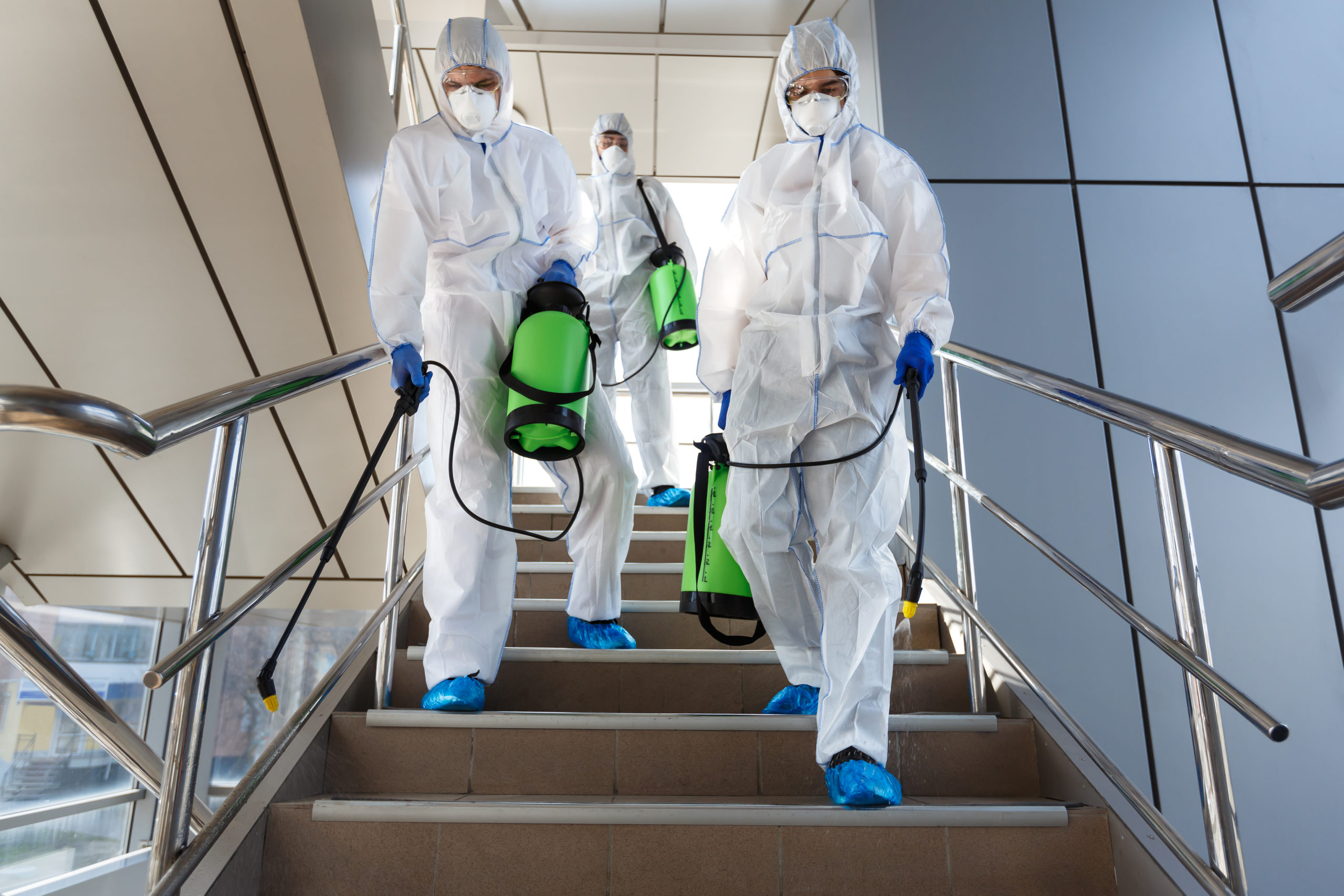 wear ppe to avoid contamination in the workplace