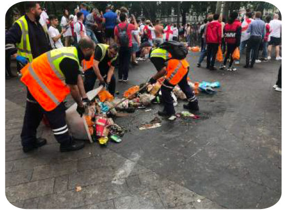 westminster clean streets